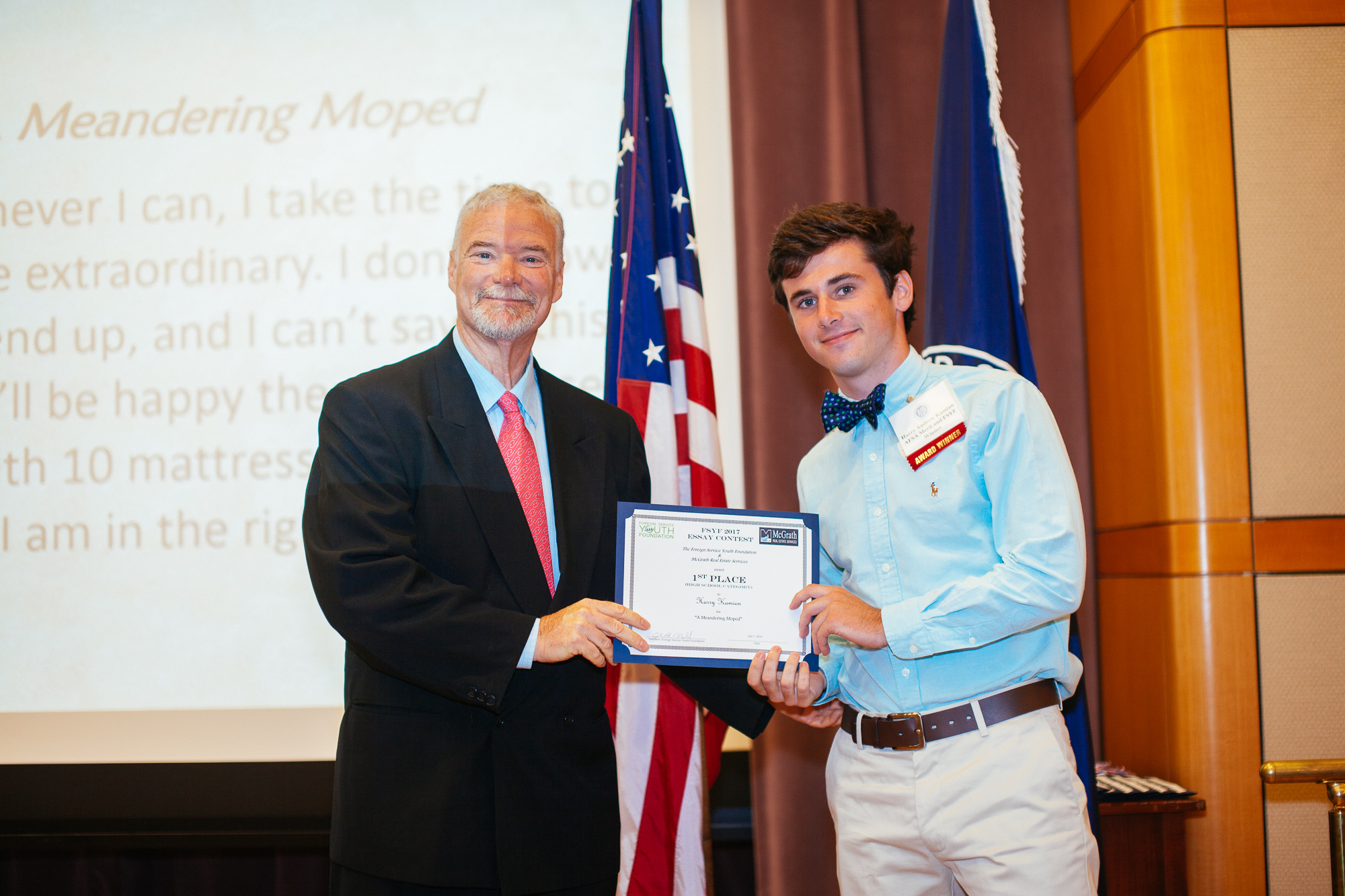 Foreign service essay contest
