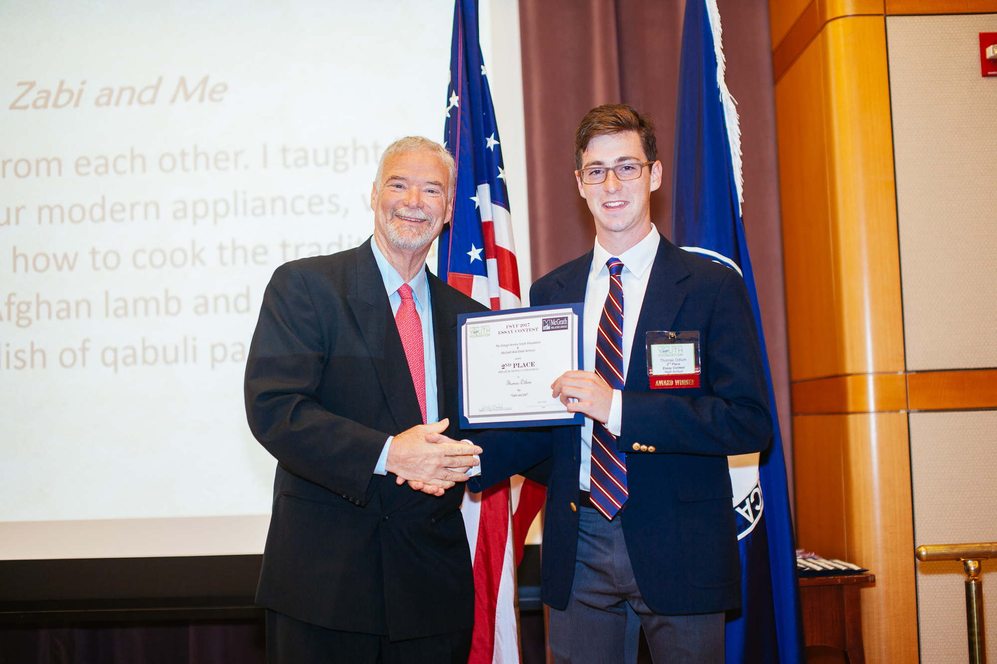 foreign service essay high school High school re-entry program  foreign service youth foundation  other scholarships american foreign service association.